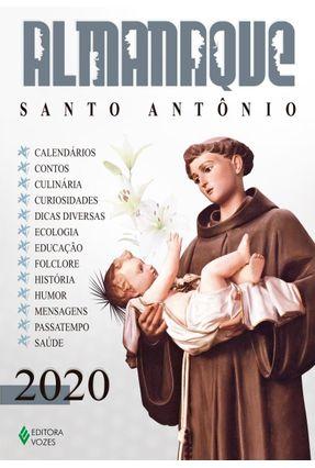 Almanaque Santo Antônio 2020 - Pasini,Edrian Josué | Nisrs.org