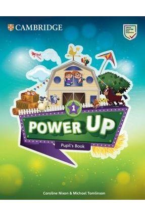 Power Up Level 1 Pupil's Book - Nixon,Caroline Tomlinson,Michael | Hoshan.org