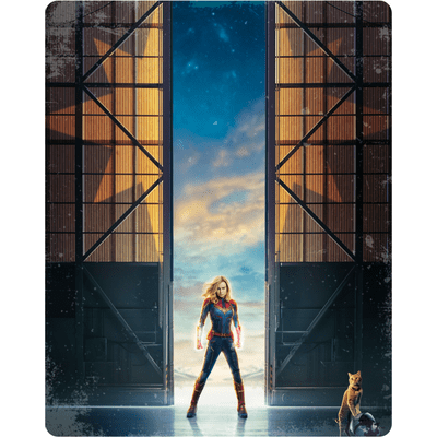 Capitã Marvel - Blu-Ray - Steelbook