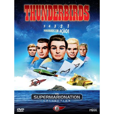 Thunderbirds - The Supermarionation Collection - Vol.1 - 4 Discos