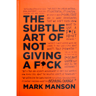 The Subtle Art Of Not Giving A F*ck - Special Edition - Exclusivo Saraiva