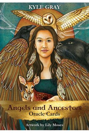 Angels And Ancestors Oracle Cards - Kyle Gray Lily Moses | Hoshan.org