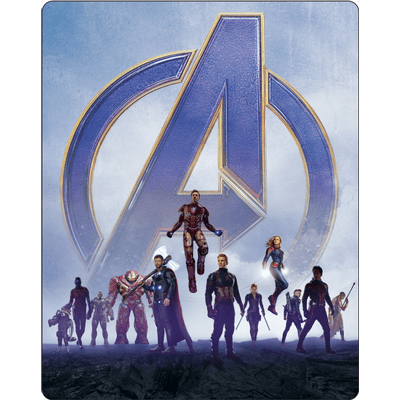 Vingadores - Ultimato - Steelbook - Blu-Ray + Disco Bônus