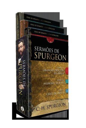 Box - Sermões De Spurgeon - 3 Livros Do Príncipe Dos Pregadores - Spurgeon,Charles Haddon | Hoshan.org
