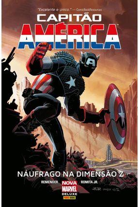 Capitão América: Náufrago Na Dimensão Z - Remender, Rick   Tagrny.org
