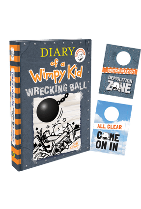 Diary Of A Wimpy Kid 14 - Wrecking Ball + 2-Sided Door Hanger - Kinney,Jeff | Hoshan.org