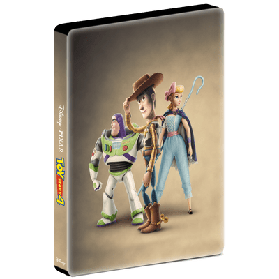 Toy Story 4 - Blu-Ray Duplo Steelbook