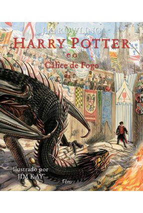 Harry Potter e O Cálice De Fogo - Edição Ilustrada - Rowling,J. K. | Tagrny.org