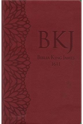 Bíblia King James Ultrafina - Gigante - Vinho - Bv BOOKS pdf epub