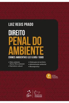 Direito Penal Do Ambiente - Crimes Ambientais (Lei 9.605/1998) - Prado,Luiz Regis pdf epub