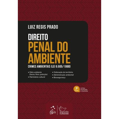 Direito Penal Do Ambiente - Crimes Ambientais (Lei 9.605/1998)