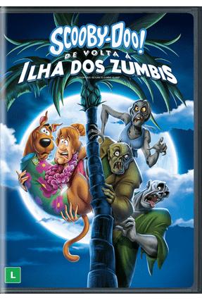 Scooby Doo De Volta A Ilha Dos Zumbis Dvd Saraiva