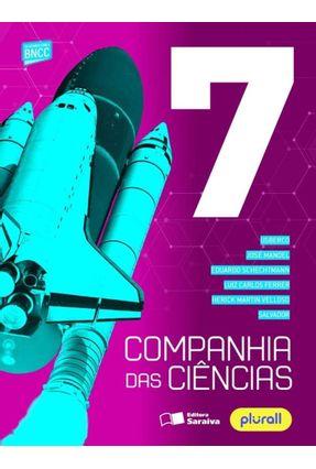 Companhia Das Ciências 7º Ano - Salvador Schechtmann,Eduardo Ferrer,Luiz Carlos Martin Velloso,Herick USBERCO Manoel,Jose | Hoshan.org