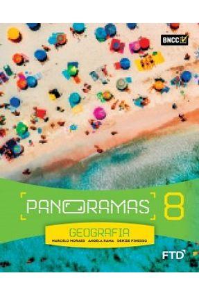Panoramas Geografia - 8º Ano - Aluno - Pinesso,Denise Marcelo Moraes Rama,Angela | Hoshan.org
