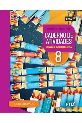 Panoramas - Cad. Atividades L. Portuguesa - 8º Ano - Aluno - Prado,Angélica Hulle,Cristina   Hoshan.org