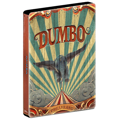Dumbo 2019 - Blu Ray Steelbook