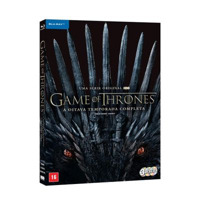 Game Of Thrones A Oitava Temporada Completa - Blu Ray