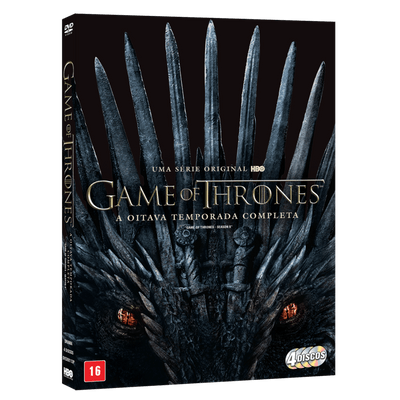 DVD Game Of Thrones - A Oitava Temporada Completa - 4 Discos
