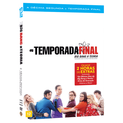 DVD A Temporada Final Big Bang A Teoria - 12ª Temporada - 3 Discos