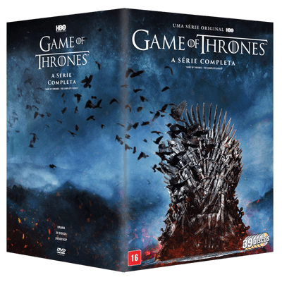 DVD - Game Of Thrones - A Série Completa - 39 Discos