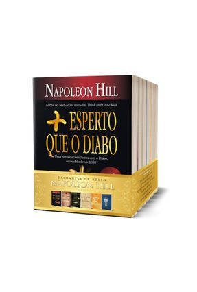 Kit - Napoleon Hill - Versão De Bolso - 6 Volumes - Hill,Napoleon | Tagrny.org