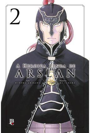 A Heroica Lenda De Arslan Senki - Vol. 02 - Arakawa,Hiromu Tanaka,Yoshiki   Nisrs.org
