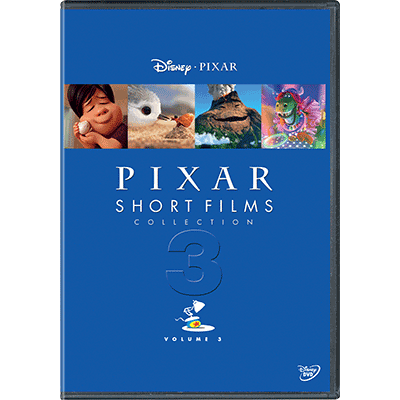 DVD Pixar Short Films Collection Volume 3