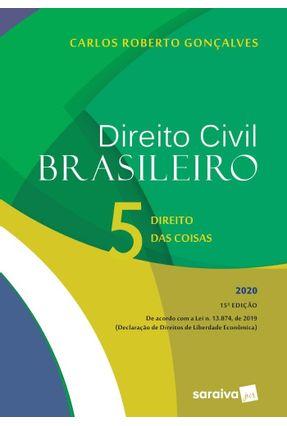 Direito Civil Brasileiro - Vol. 5 - 15ª Edição De 2020 -  pdf epub