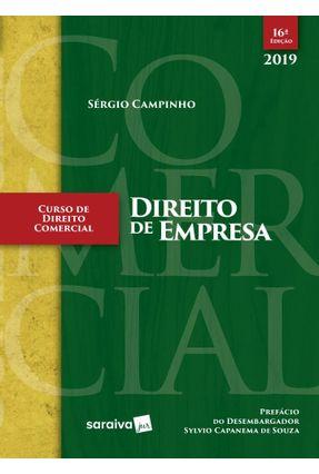 Curso De Direito Comercial  Direito De Empresa - 16ª Ed. 2019 -  pdf epub