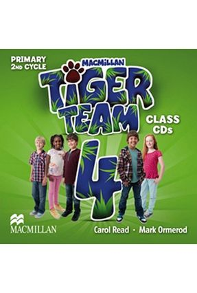 Tiger Team 4 - Audio CD - Editora Macmillan | Tagrny.org