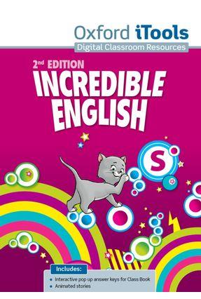 Incredible English - Starter - ITOOLS - DVDROM - 2ª Ed. - Editora Oxford | Nisrs.org