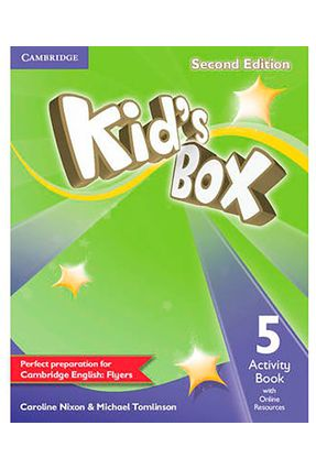 Kids Box 5 - Activity Book With Online Resources - 2nd Ed. - Cambridge University Press   Nisrs.org