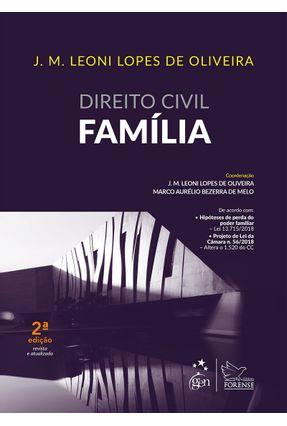 Direito Civil - Família - 2ª Ed. 2019 - Oliveira,José Maria Leoni Lopes De pdf epub