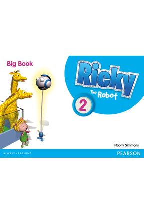 Ricky The Robot 2 Big Bk 2 Big Book 1E - Editora Pearson   Nisrs.org