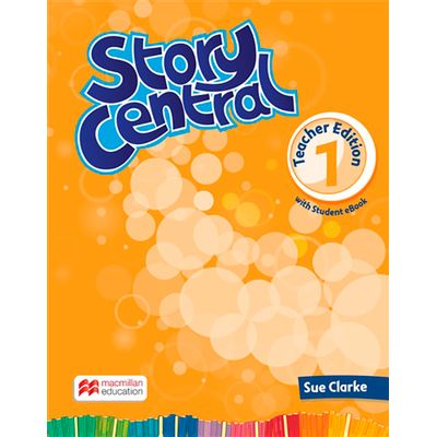 Story Central Teacher's Book With Ebook Pack-1