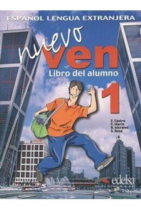 Nuevo Ven 1 Libro Del Alumno + CD Audio - Castro,Francisca Castro,Francisca   Hoshan.org