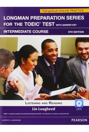 L. Preparation Series For The Toeic Tst: Int Bk W/ Cdrom W/ Key Itest Mylab - Editora Pearson pdf epub