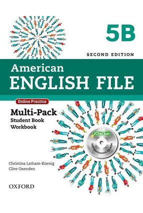 American English File 5 B - Multi-Pack - Student'S Book + Workbook - Second Edition - Editora Oxford | Tagrny.org