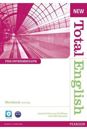 New Total English Pre-intermediate - Workbook With Key - CD-ROM - Crace,Araminta | Nisrs.org