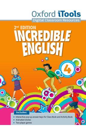 Incredible English - Level 4 - Itools - DVD-ROM - Editora Oxford | Hoshan.org