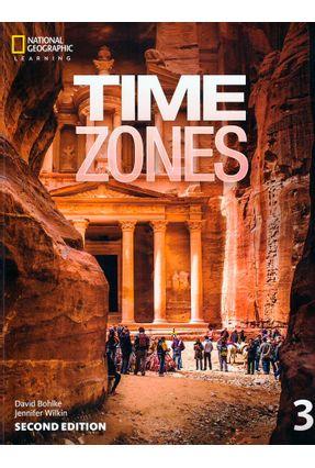 Time Zones 3 - Student Book + Online Workbook - Second Edition - Tim Collins Nicholas Beare Ian Purdon pdf epub