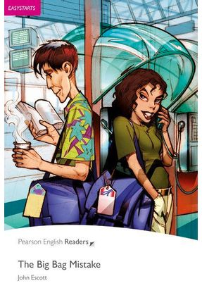 Big Bag Mistake Easystarts Pack CD - Penguin Readers - 2 Ed. - Escott,John | Nisrs.org