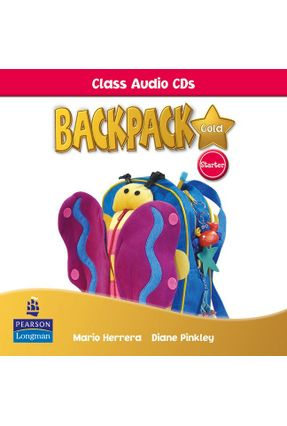 Backpack Gold  Starter - Class Audio Cds - Editora Pearson | Tagrny.org