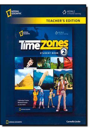 Time Zones 2 - Teacher´s Edition - Catherine Frazier,Richard pdf epub