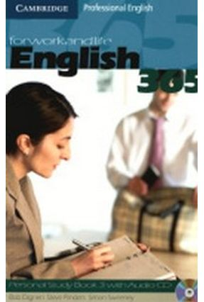 English 365 - Personal Study Book 3 With CD