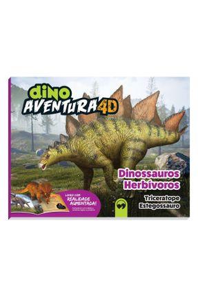 Dino Aventura 4D Herbivoros - Editora Vale das Letras Editora Vale das Letras   Hoshan.org