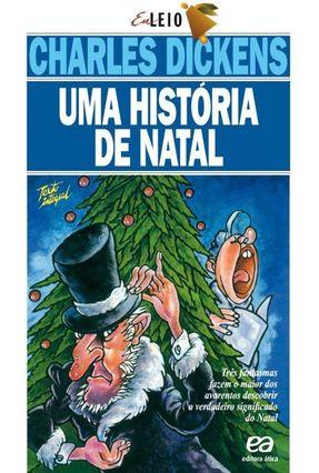 Uma História De Natal - Col. Eu Leio - Dickens,Charles   Nisrs.org