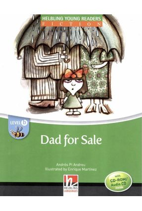 Dad For Sale - With CD-ROM / Audio CD - Level B - Col. Helbling Young Readers - Andreau,André Pi Andreau,André Pi   Hoshan.org