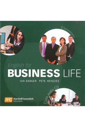 English For Business Life - Elementary - Audio CD - Badger,Ian Menzies,Pete   Tagrny.org