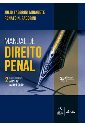 Manual De Direito Penal - Parte Especial - Vol. 2 - Mirabete,Julio Fabbrini Fabbrini,Renato N. pdf epub